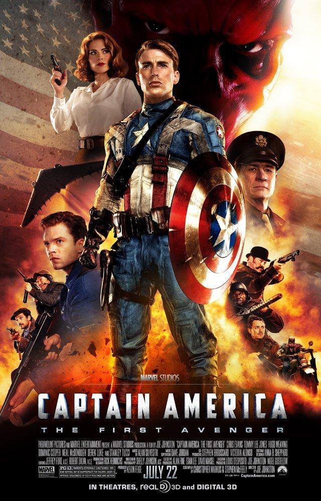CAPITAN AMERICA EL PRIMER VENGADOR (2011) [BLURAY 720P X264 MKV][AC3 5.1 CASTELLANO] torrent
